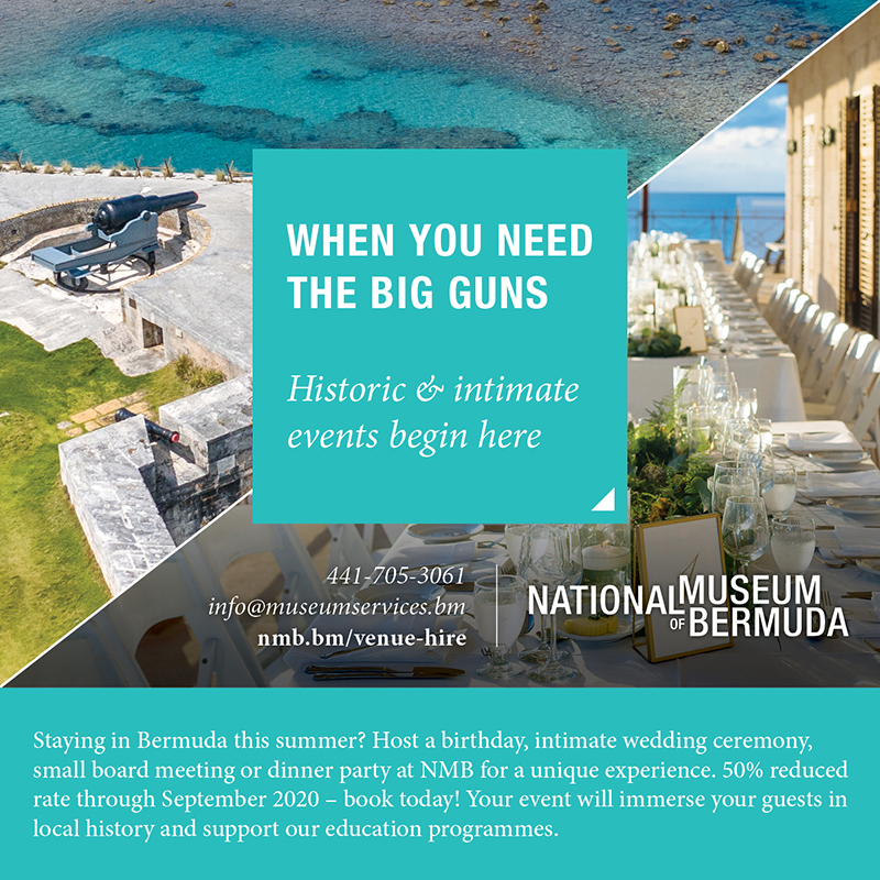 NMB Venue Rental Bermuda July 2020