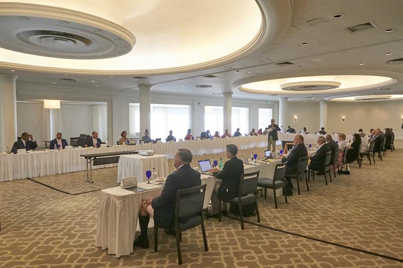 National Tripartite Social Dialogue meeting Bermuda July 2020 (2)
