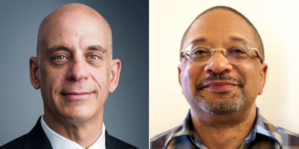 Peter Lozier & Dr Basil Wilson Bermuda July 2020