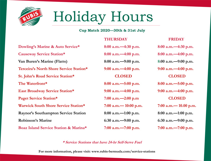 COVID-19 - Cup Match Holiday Operating Hours v2 - Microsoft Publ