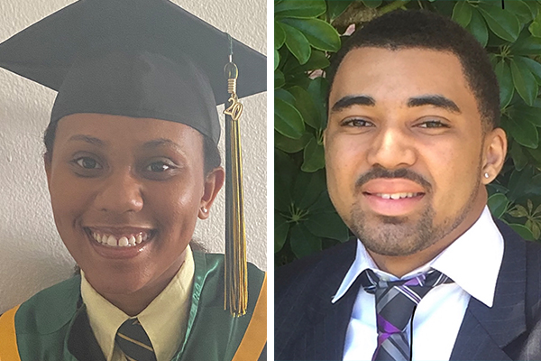 Roneeyah Jones & Nkosi Edwards Bermuda July 2020