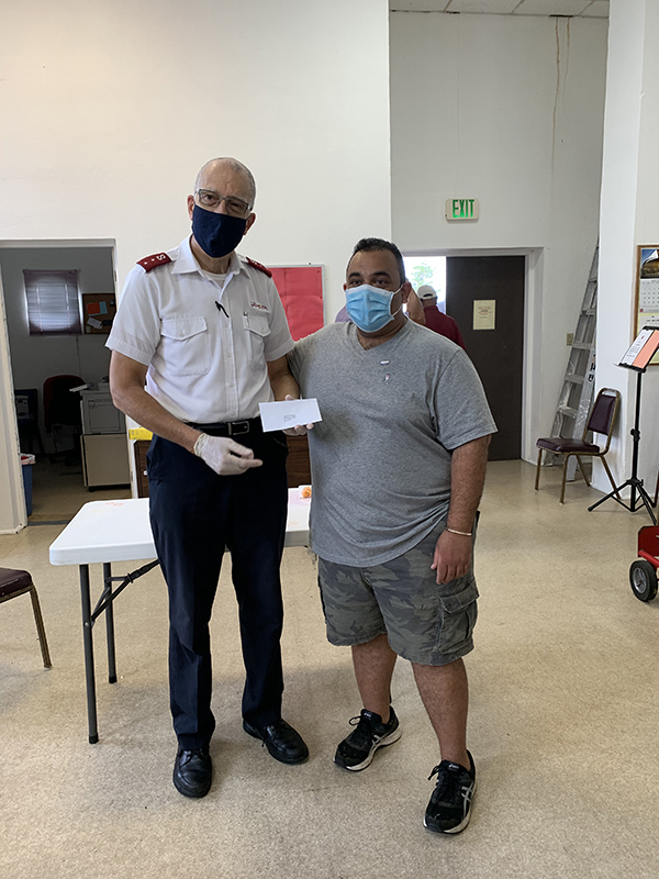 St. George's Rotary & Salvation Army Food Hamper Program Bermuda July 2020 (2)