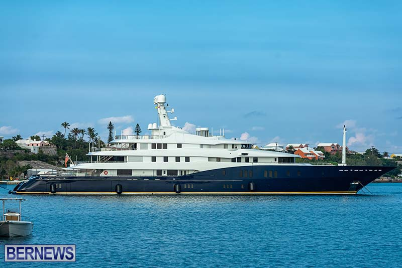 Superyacht Visit St George's Bermuda July 2020 (2)