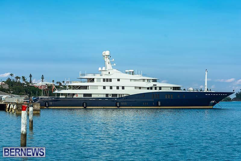 Superyacht Visit St George's Bermuda July 2020 (3)