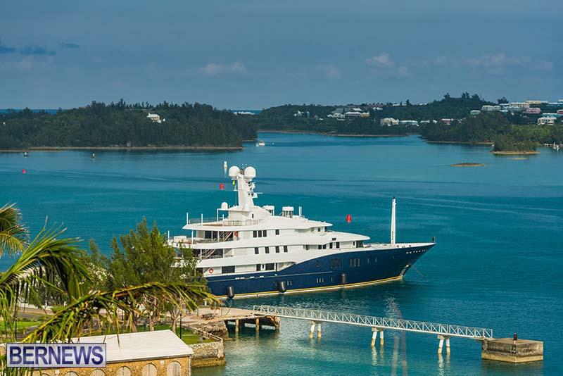 Superyacht Visit St George's Bermuda July 2020 (4)