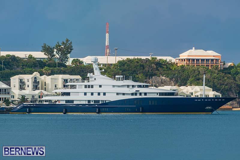 Superyacht Visit St George's Bermuda July 2020 (5)