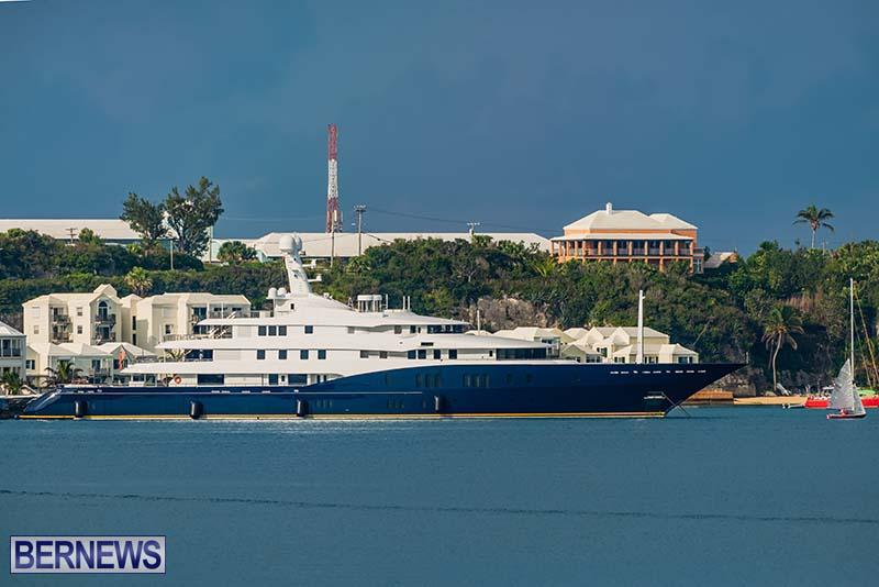 Superyacht Visit St George's Bermuda July 2020 (6)