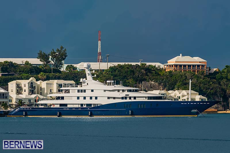 Superyacht Visit St George's Bermuda July 2020 (7)