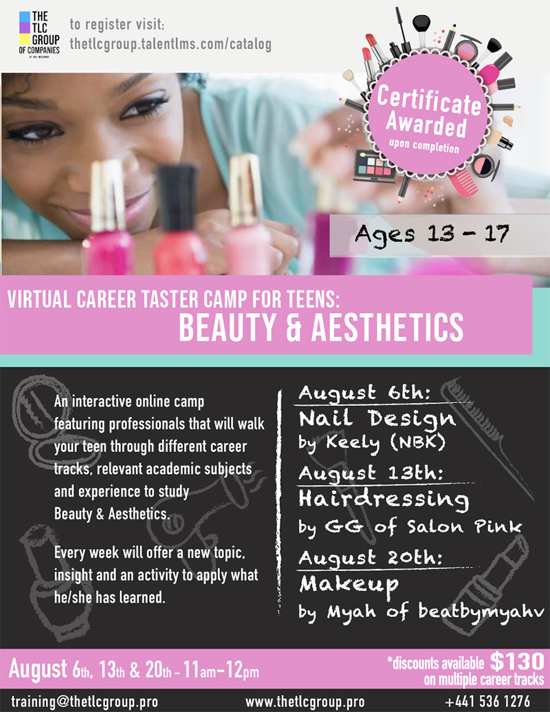 TLC Group To Offer Career Taster Virtual Camp Bermuda July 2020 (4)
