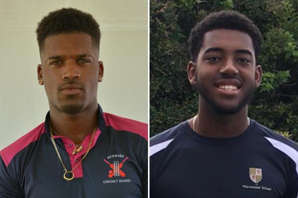 Zeko Burgess and Dominic Subair Bermuda July 2020 (1)