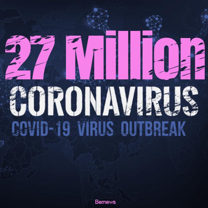 27 million coronavirus covid-19 outbreak IG