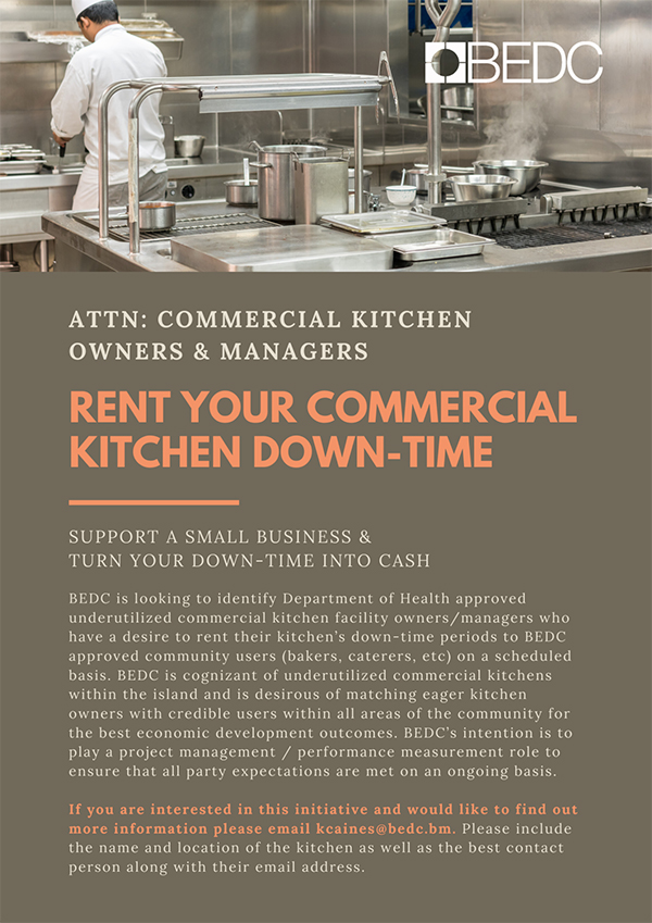 BEDC Commercial Kitchens Bermuda Aug 2020