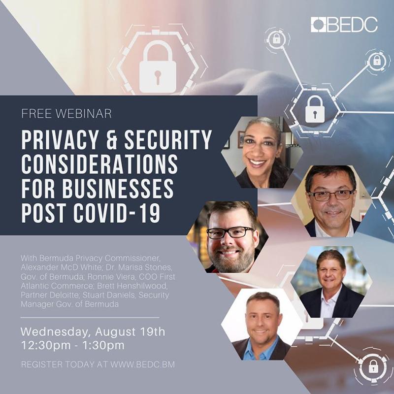 BEDC Cybersecurity & Privacy Webinar Bermuda Aug 2020