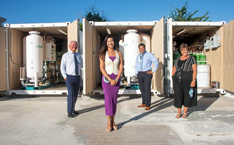 BHB Doubles Oxygen Supply Bermuda Aug 2020 1