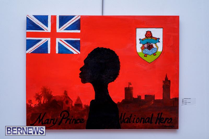 BSOA Bermuda Art Emancipation exhibit August 2020 artist (10)