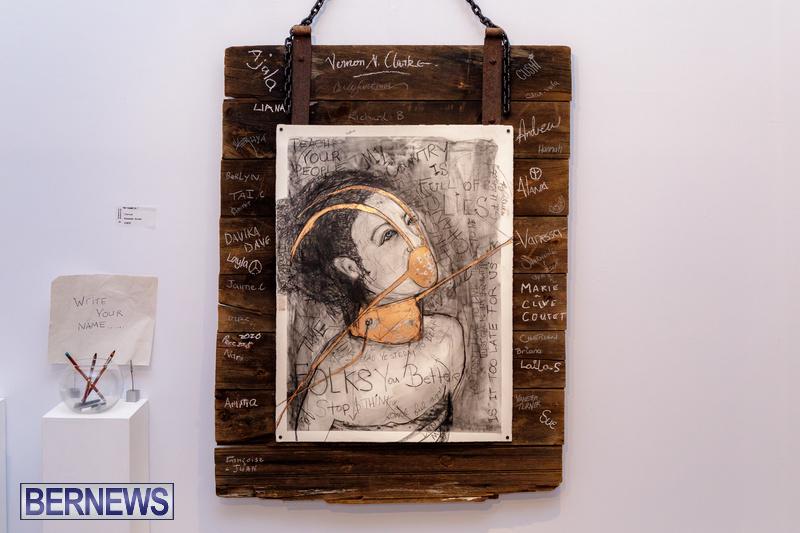 BSOA Bermuda Art Emancipation exhibit August 2020 artist (13)