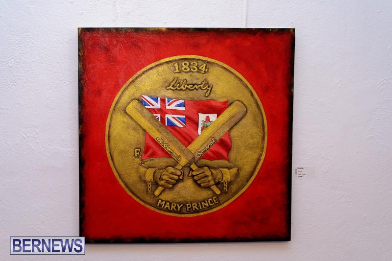 BSOA Bermuda Art Emancipation exhibit August 2020 artist (4)