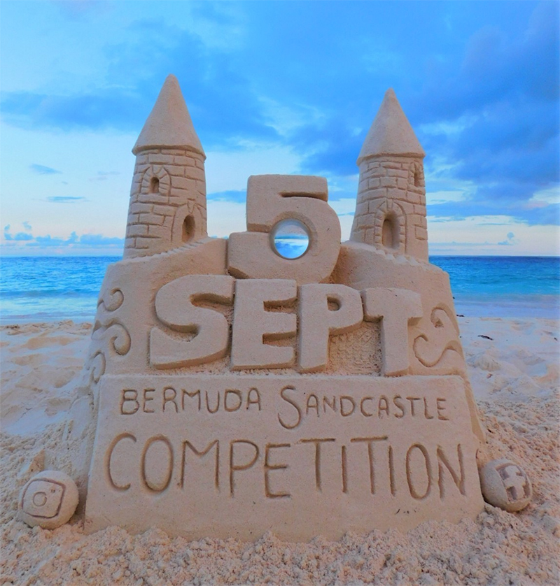 Bermuda Sandcastle Competition Aug 2020 2
