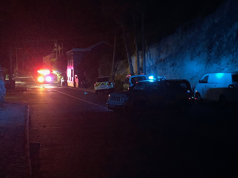 Car Fire Bermuda Aug 7 2020 (1)