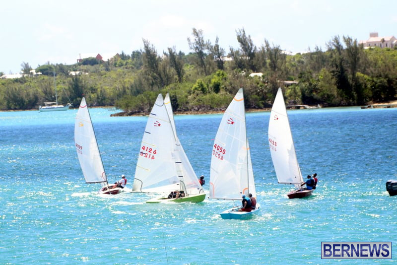 Comet Class Club Racing Bermuda Aug 16 2020 12