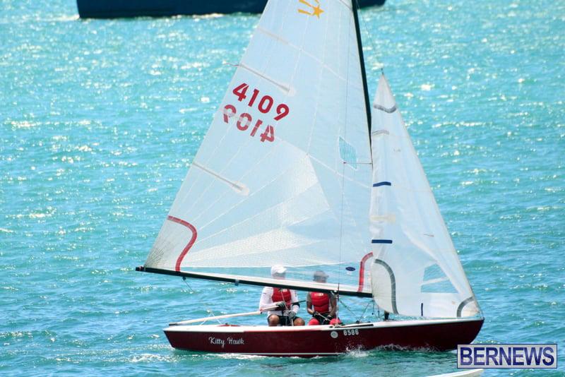 Comet Class Club Racing Bermuda Aug 16 2020 14