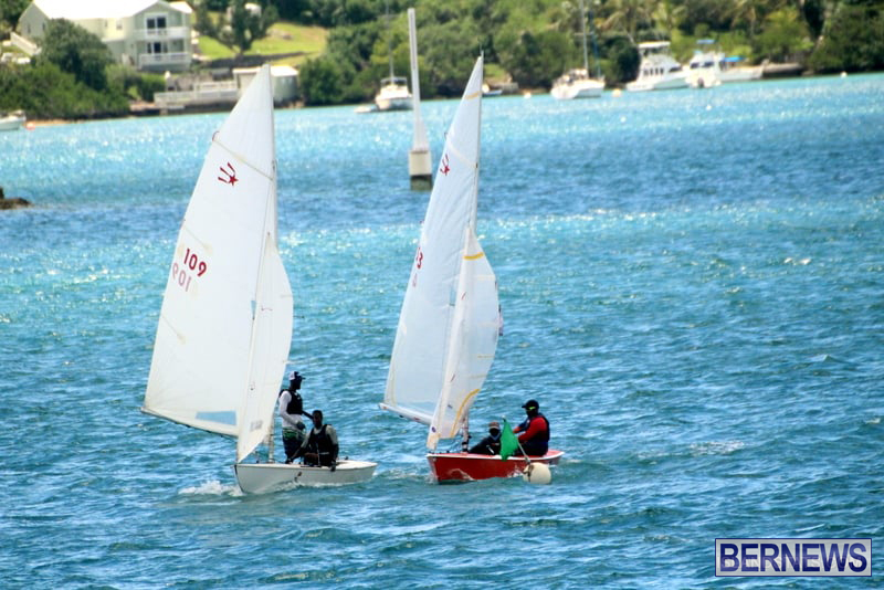 Comet Class Club Racing Bermuda Aug 16 2020 15