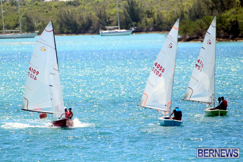 Comet Class Club Racing Bermuda Aug 16 2020 4