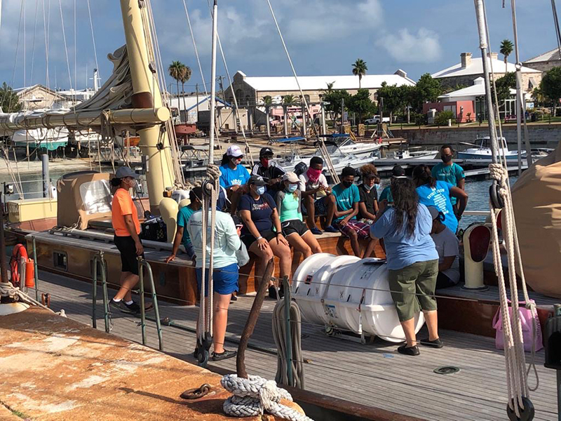 DofE & Spirit Of Bermuda Journey Aug 2020 1