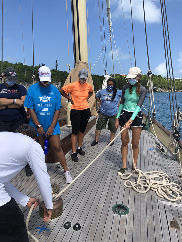 DofE & Spirit Of Bermuda Journey Aug 2020 3
