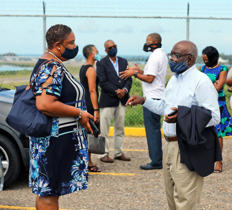 Ministers Visit BWS For Operational Update Aug 2020 6