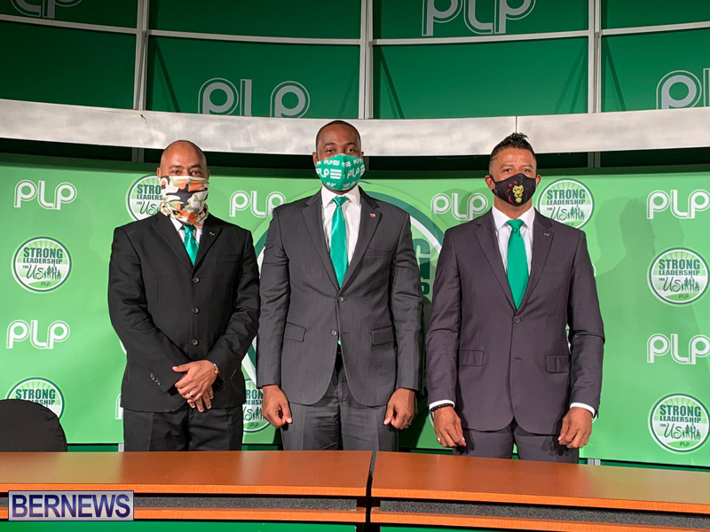 PLP press conference Bermuda Aug 31 2020