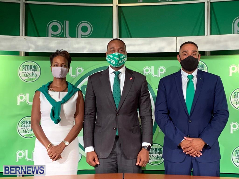 PLP press conference election candidates Aug 24 2020 (2)