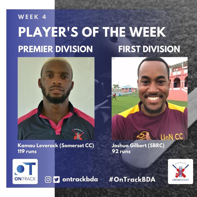 Player of the Week Bermuda August 2020