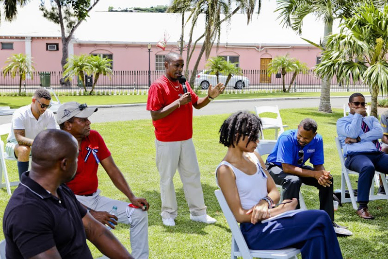 Premier and Minister Meet With Community Clubs Bermuda Aug 2020 (6)
