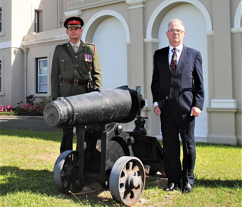 Regiment Bermuda Aug 30 2020