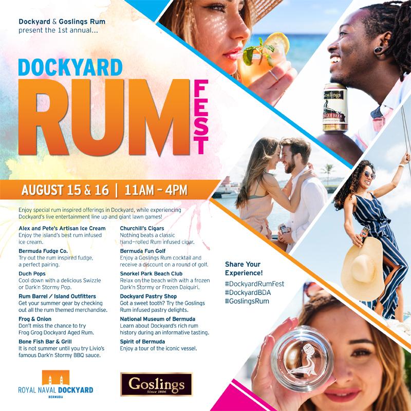 Rum Festival Bermuda August 2020