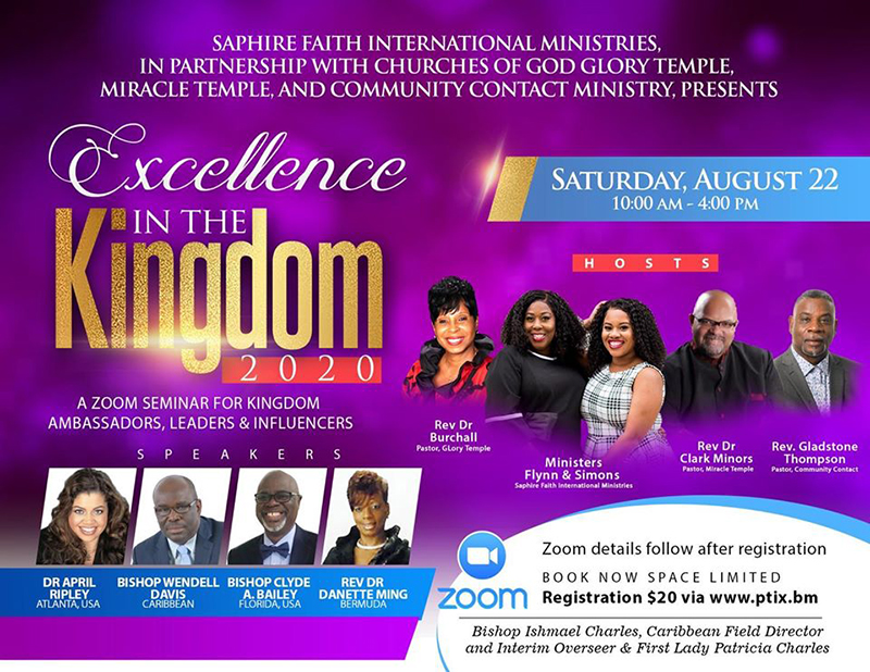 "SFIM To Host ""Excellence In The Kingdom, 2020"""