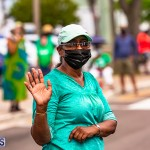 2020 Bermuda Labour Day March in Hamilton Sept JS (15)