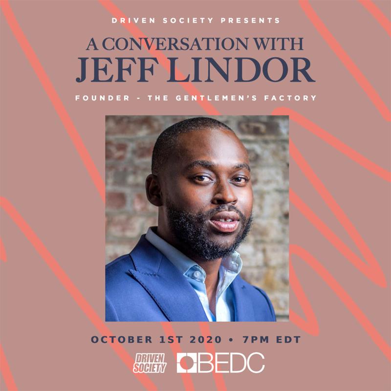 A Conversation with Jeff Lindor Bermuda Sept 2020