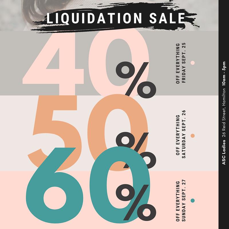 AS Cooper Liquidation Sale Bermuda Sept 2020