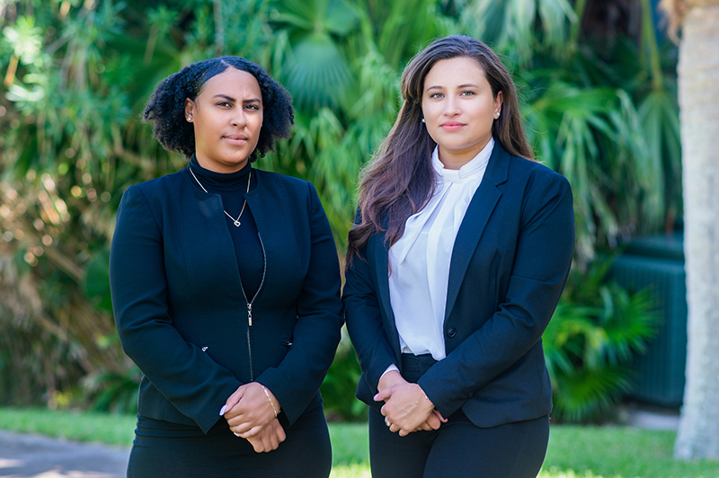 Ashley Fubler & Izabella Arnold Bermuda Sept 2020