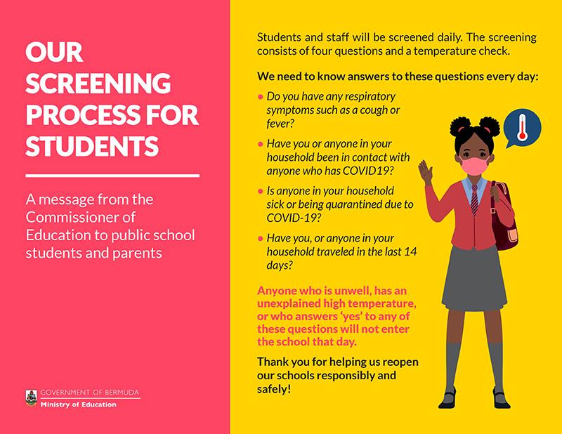Back-To-School Procedures Bermuda Sept 2020 1