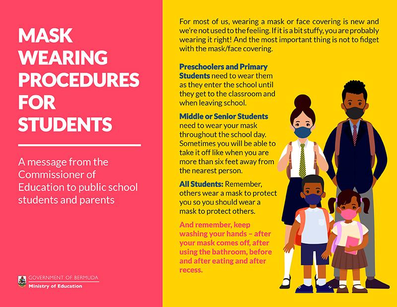Back-To-School Procedures Bermuda Sept 2020 2