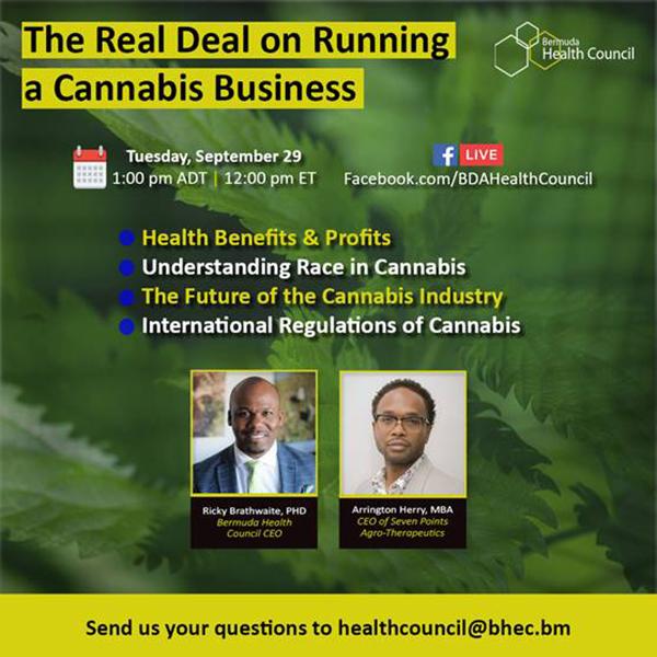 Bermuda Health Council Sept 23 2020