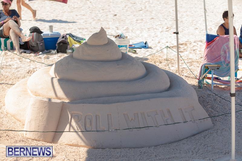 Bermuda Sandcastle Contest at Horseshoe Beach Sept 2020 (11)