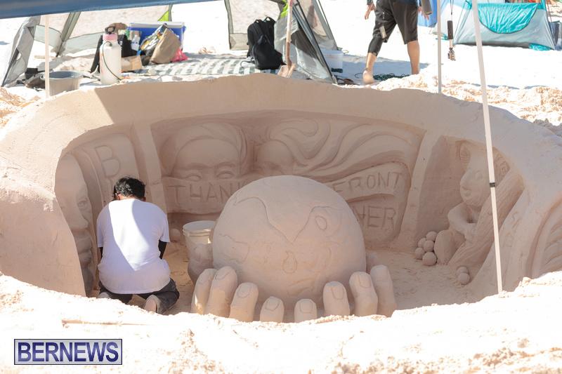 Bermuda Sandcastle Contest at Horseshoe Beach Sept 2020 (15)