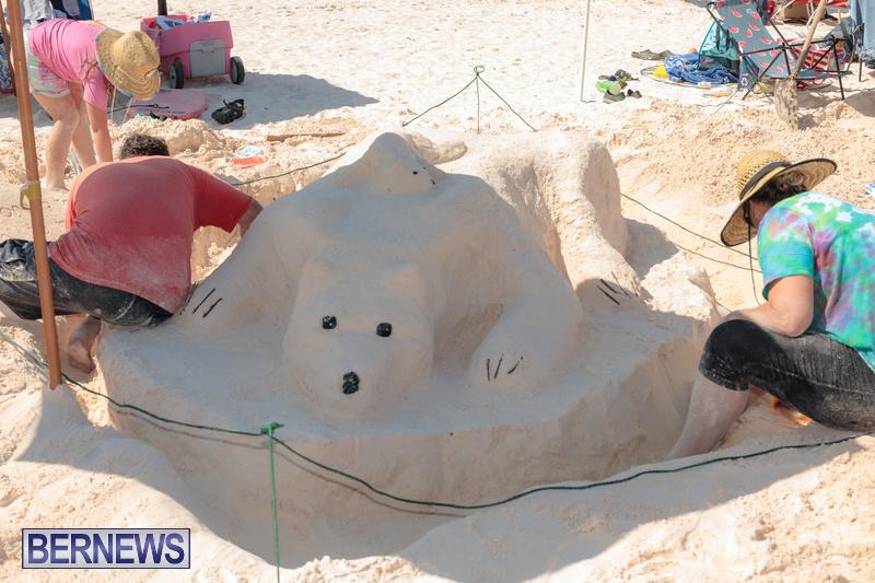 Bermuda Sandcastle Contest at Horseshoe Beach Sept 2020 (19)