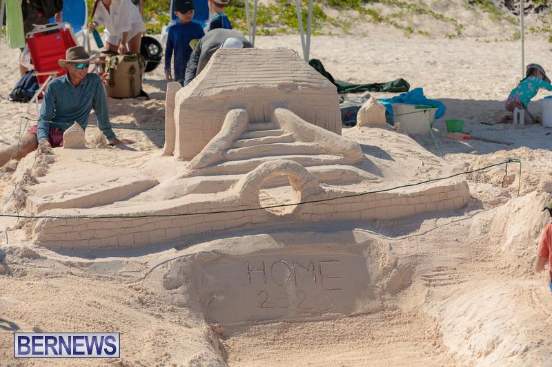 Bermuda Sandcastle Contest at Horseshoe Beach Sept 2020 (2)