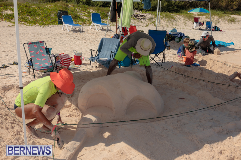Bermuda Sandcastle Contest at Horseshoe Beach Sept 2020 (21)