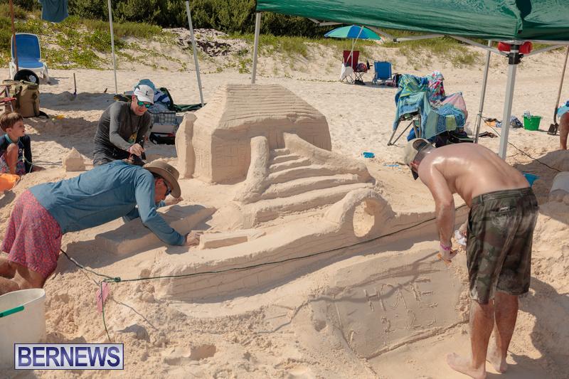 Bermuda Sandcastle Contest at Horseshoe Beach Sept 2020 (22)